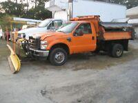 2008 ford F350 4x4 dump truck