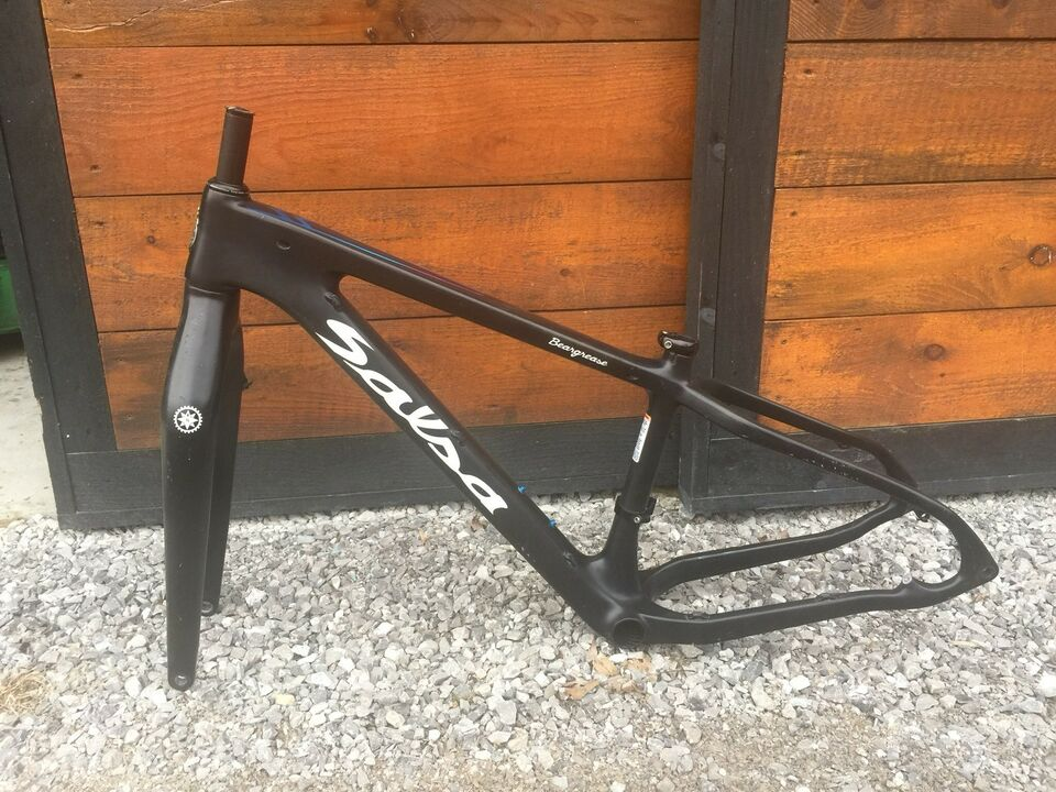 Salsa Beargrease Carbon Fat Bike Frame | Mountain | London | Kijiji