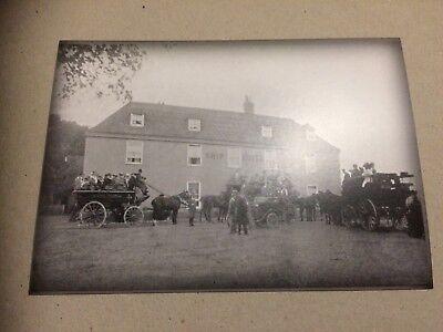 The Ship Hotel Pub Dymchurch 1908. Old Postcard.