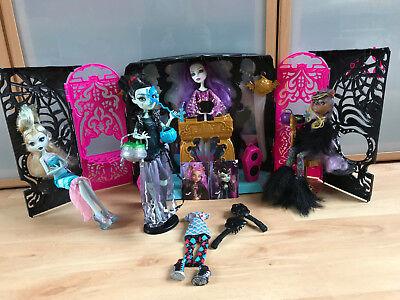 Monster High Spectras Partyraum Disco 13 Wünsche & 4 Puppen