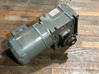 Us Motors Unimount 125 Gear Motor Speed Reducer Torqube Qc 401 Ratio Shur Stop