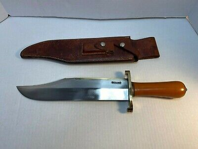 Randall Made Knife Non-Catalog Bowie, must see this massive knife!