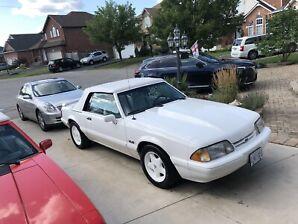 1993 Mustang LX Convertible.