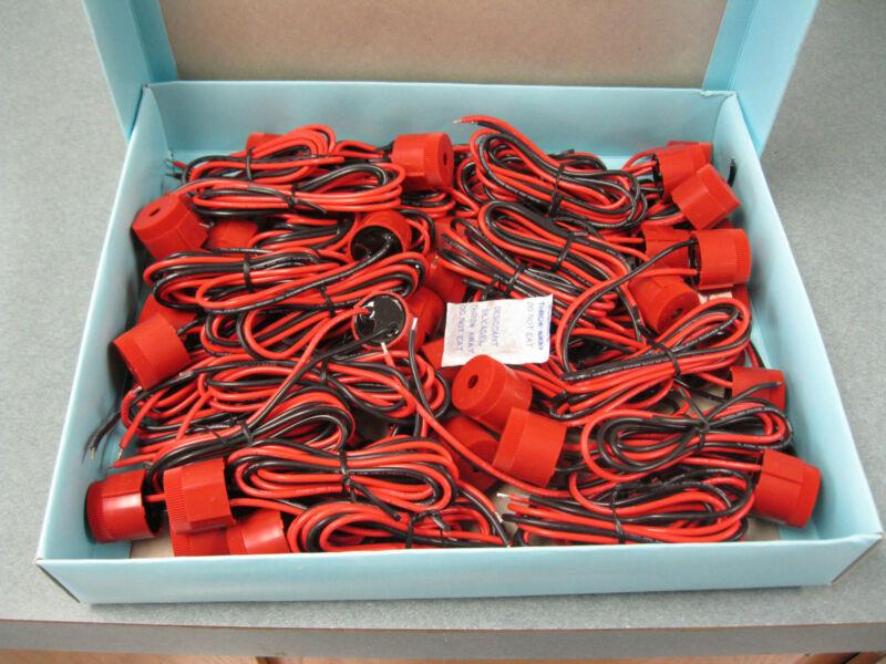Piezo Electric Buzzers,  12V DC, 2900 Hz., Lot of 40