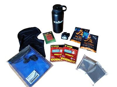Winter Outdoor Gear Gift Set Emergency Hiking Supplies Survival Kit