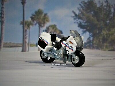 BMW R-1200 RT-P Police Motorcycle Bike Collectible 1:64  Model    U