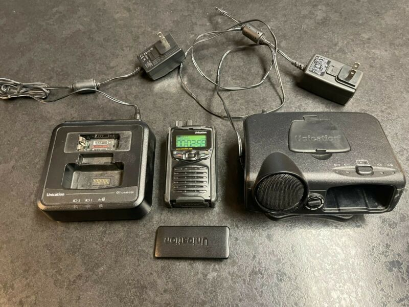 Unication G1 UHF 450-473 Mhz (UD) 64 CH Analog Pager