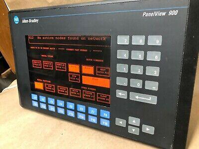Oem Allen Bradley Panelview 900 2711-k9a2 Ser F Rev B Frn 3.00 Operator Panel