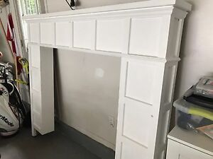Fireplace cover/surround