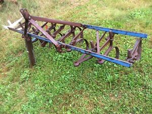 Cultivator, for 3 point hitch
