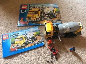 Lego. Lego City. 60018. Cement Mixer Truck. Used. Complete. Beaconsfield Cardinia Area Preview