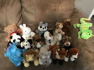 Webkinz (+few extra stuffed animals)