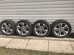 4 Charger R/T rims off a 2013 and new tires