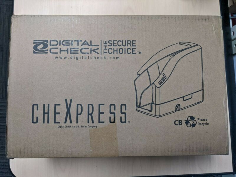 NEW Digital Check CheXpress  CX30 30KF 152001-01 Non- Inkjet Check Scanner