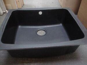 Astracast Malham 1.0 Bowl Granite Undermount Sink RRP £285-Volcanic black