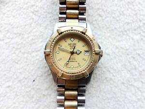 Genuine Heuer 2000 Gold & Steel Mid-size Unisex Swiss Watch