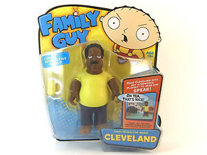 FAMILY-GUY-CLEVELAND-INTERACTIVE-6-FIGURE-BRAND-NEW-GREAT-GIFT