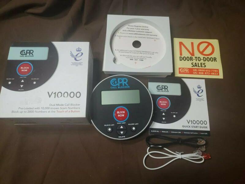 CPR V10000 Dual Mode Call Blocker