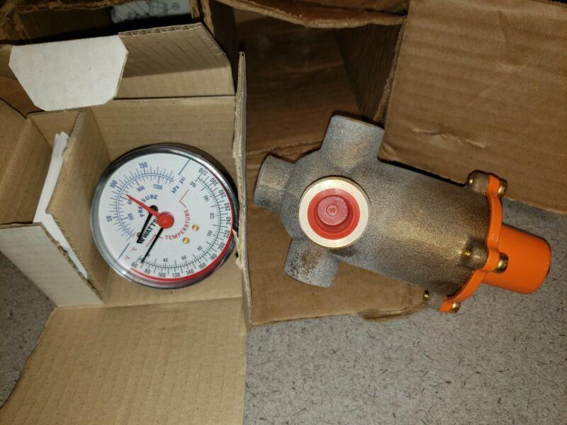 ES150-11 Powers Hydroguard Emergency Tempering Mixing Valve & pressure Gauge