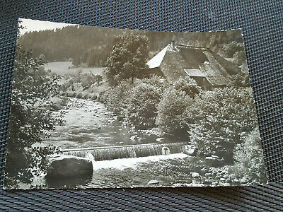 AK Mühle Schwarzwald ungelaufen  Ansichtskarte cP