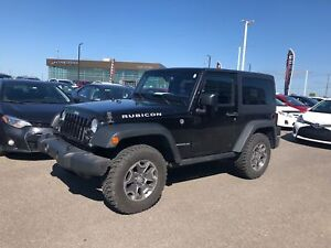2016 Jeep Wrangler Rubicon * CUIR * GPS * 2 TOIT * MANUEL *