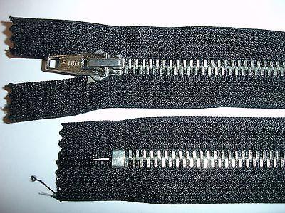 RV 334 Reißverschluß opti schwarz 16cm, nicht teilbar 2 Stück