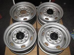 Mazda 14 x 5.5 Steel Rims. 6 x 139. 7 PCD. Set of 4. Launceston Launceston Area Preview