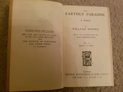 Morris The Earthly Oaradise 1
