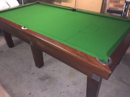 QUEDOS JARRAH BILLIARD POOL TABLE 8x4 Morayfield Caboolture Area Preview