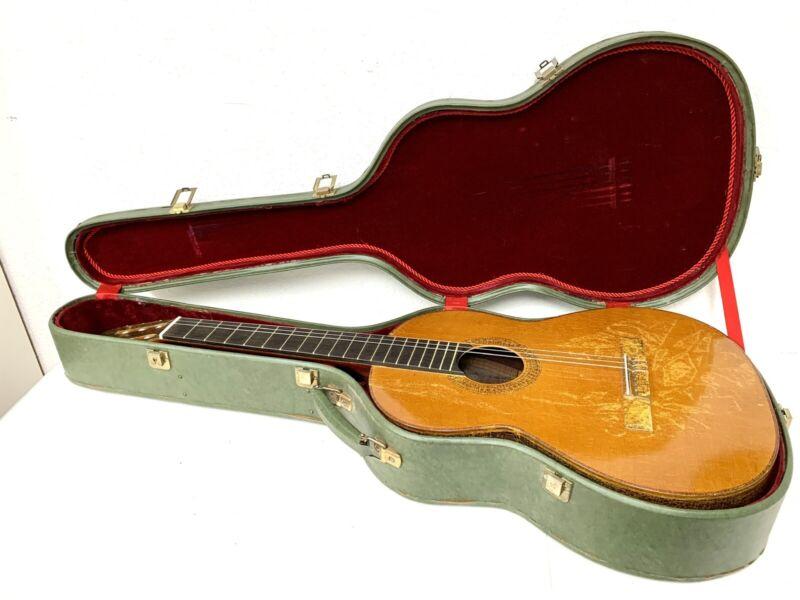 Original Vintage M.G. Contreras Guitarreria Guitar Made in Spain + Case