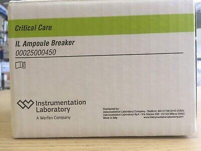 Instrumentation Laboratory 00025000450 Il Ampoule Breaker Critical Care