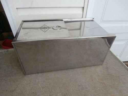 Hoosier Cabinet Style Metal Bread Box