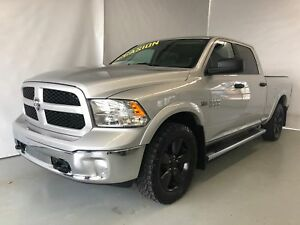 2016 Ram 1500 SLT OUTDOORSMAN CREWCAB HEMI BLUETOOTH