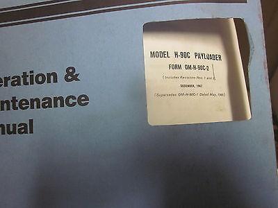 International H-90c Pay Loader Operators Manual