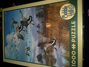 Cobble Hill 1000 pc puzzle Canada Geese New in Box London Ontario image 1
