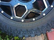 "20"" 4x4 Rims and tyres Prestons Liverpool Area Preview"