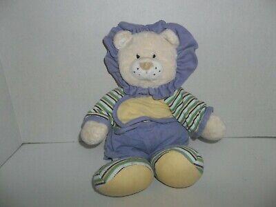 "baby ganz comfy pjs kenya lion plush 13"" tall"