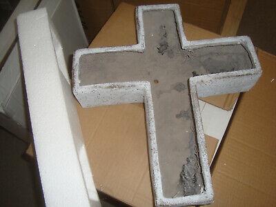 """Kreuz mit Erdspieß /""""Ihr fehlt uns/"""" Grabkreuz #723792"""