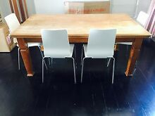 French Oak Dining Table with 6 Chairs Younghusband Mid Murray Preview