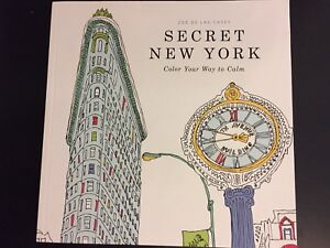 NEW NYC adult coloring book