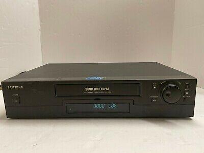 Samsung 960h Video Cassette Recorder Srv-960a Time Lapse Ready