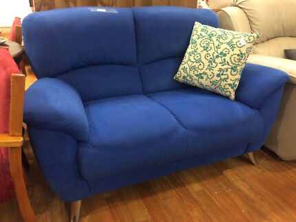 2 seater micro suede sofa/ couch/ lounge Sandy Bay Hobart City Preview