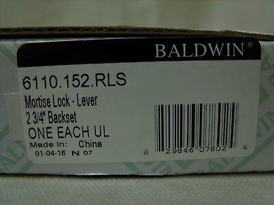 (BALDWIN Mortise Lock Body (Lever) 2-3/4