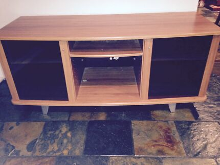 Lowline TV Cabinet- made from timber laminate Barden Ridge Sutherland Area Preview