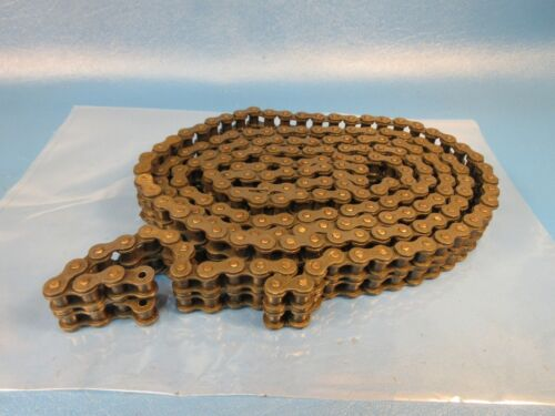 ACME 40-2,Riveted, USA, Double Roller Chain,10