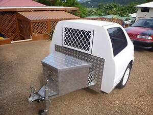 Doggy Trailer upcycled daihatsu charade Bungalow Cairns City Preview