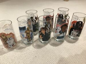 Star Wars Collectible Glasses (Burger King)