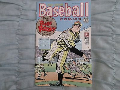 1991 Kitchen Sink Comics Baseball Comics #1 w/Cards Never Been Read