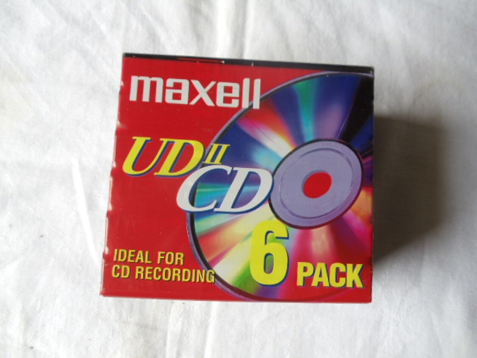 MAXELL  UDII CD-6 PACK-HIGH BIAS AUDIO CASSETTES-74 MINUTES