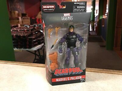 "2018 Marvel Legends Deadpool 6"" Figure MOC BAF Sasquatch - PALADIN - In Stock"